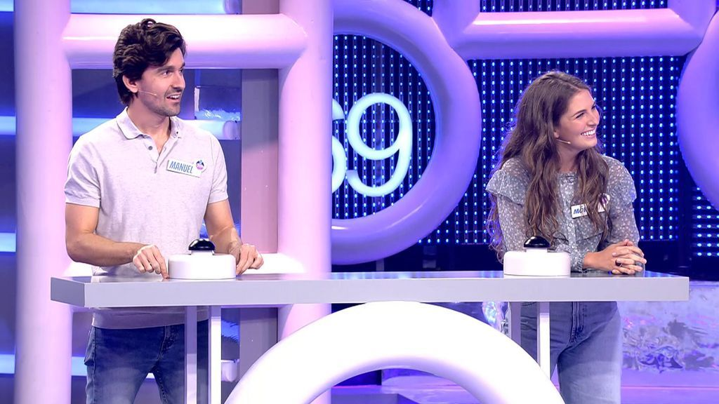 """La advertencia de Dani Martínez a Manuel y Mónica, la pareja de concursantes: """"Cuidado con el horario y lo que vas a contar…"""""""