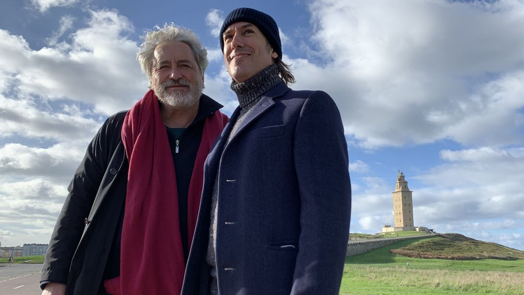 Núñez con Manolo Rivas