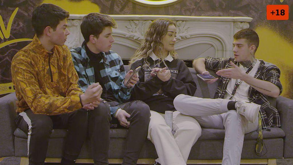 Marina Rivers enfrenta a sus amigos con su novio y teme por su relación (1/2)