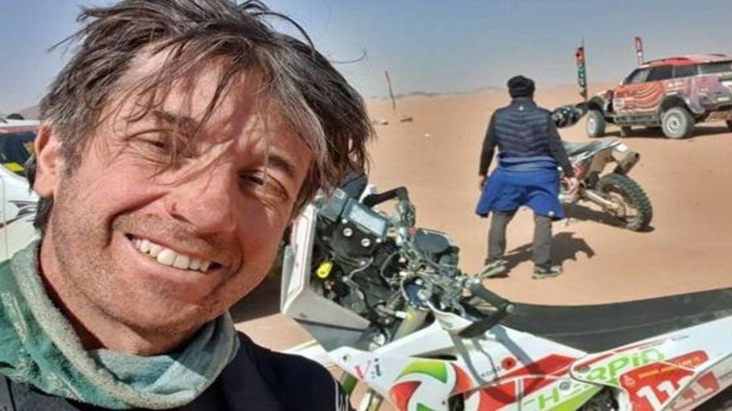 """Luto en el Dakar por la muerte del piloto Pierre Cherpin tras una caída: """"Descansa en paz guerrero de arena"""""""