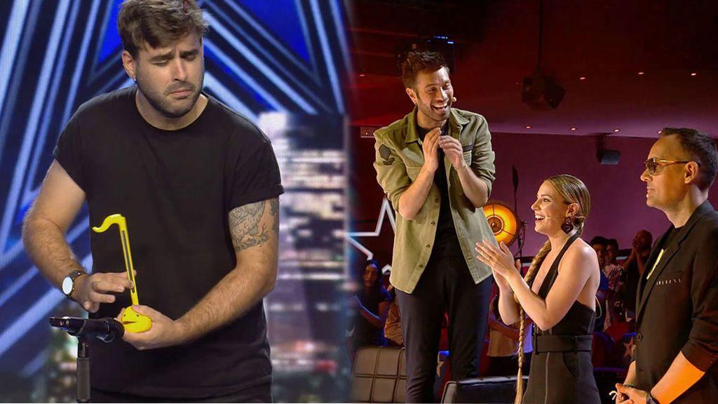Consigue el primer pase de oro de 'Got Talent 2021' con una actuación nunca antes vista en televisión