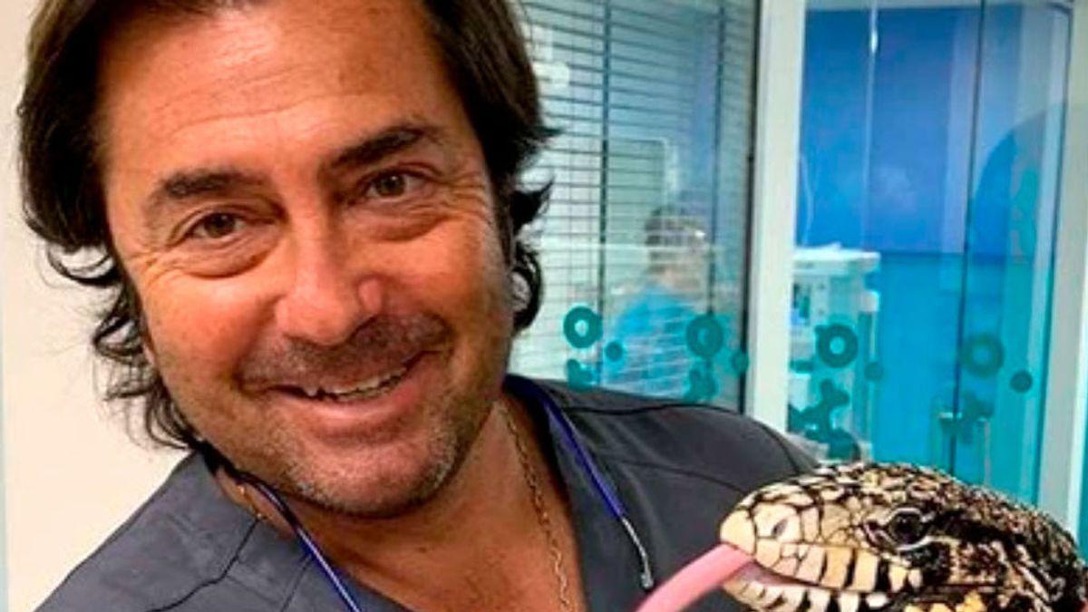 Fernando Pérez,  veterinario desde la cuna