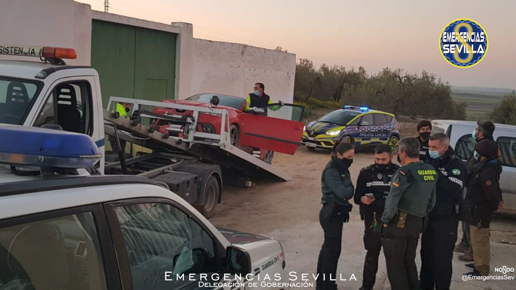 Persecución y detención policial Sevilla