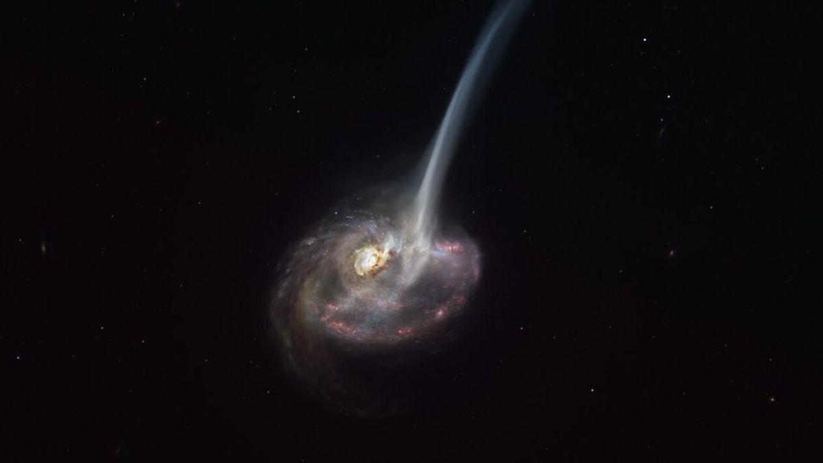 Astrónomos presencian por primera vez  la muerte de una galaxia muy lejana