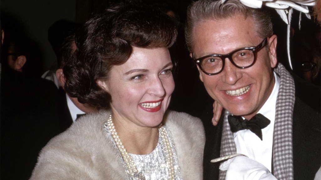 Betty White con su tercer marido, Allen Ludden