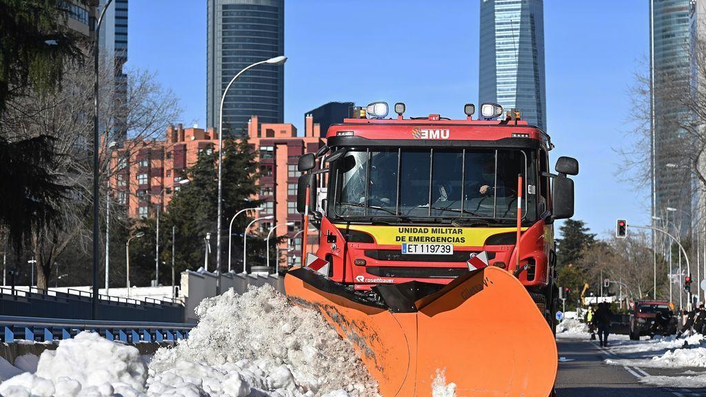 Madrid avanza hacia la normalidad una semana después de Filomena con Ayuso y municipios pidiendo ser zona catastrófica