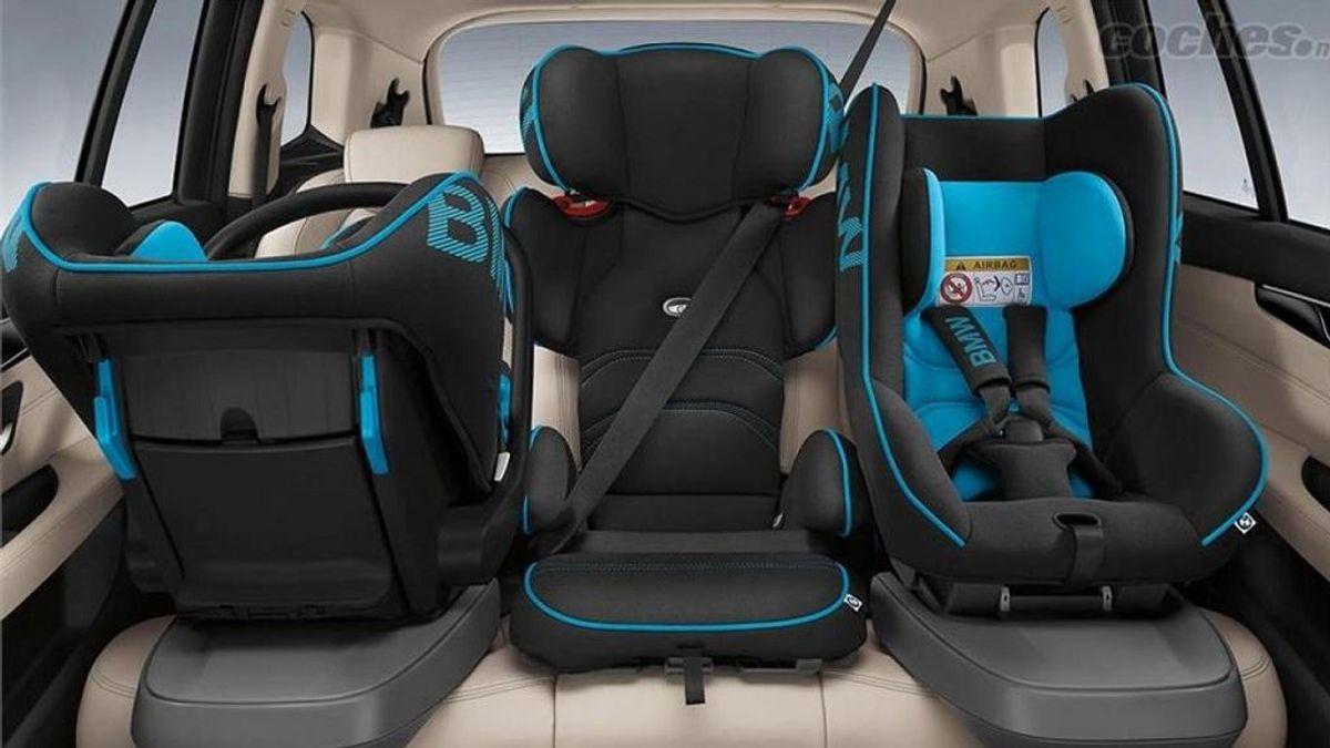 Silla de bebé en el coche: las nuevas multas por no llevar bien a tu nieto… o a tu hijo