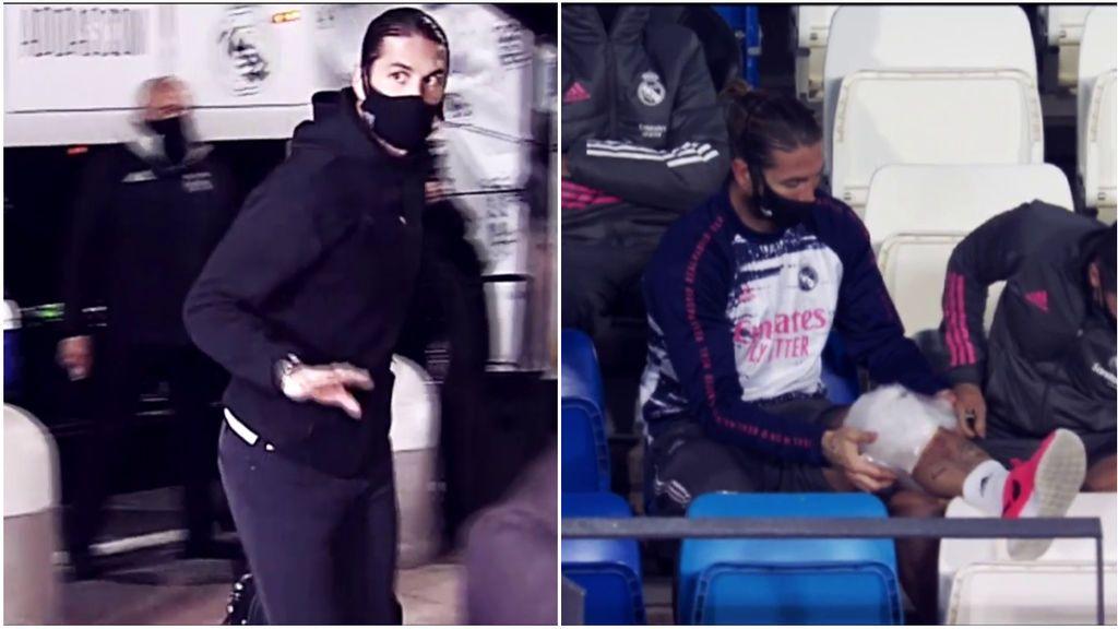 Ramos jugó infiltrado en el partido de Supercopa