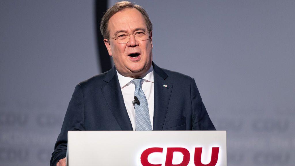 Armin Laschet se impone en el congreso digital por la presidencia de la CDU de Merkel