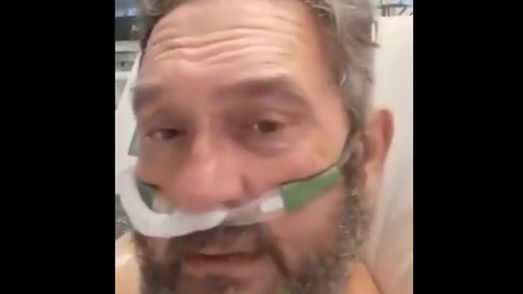 """El mensaje de un médico valenciano ingresado por covid sobre la nueva cepa inglesa: """"Es el demonio"""""""