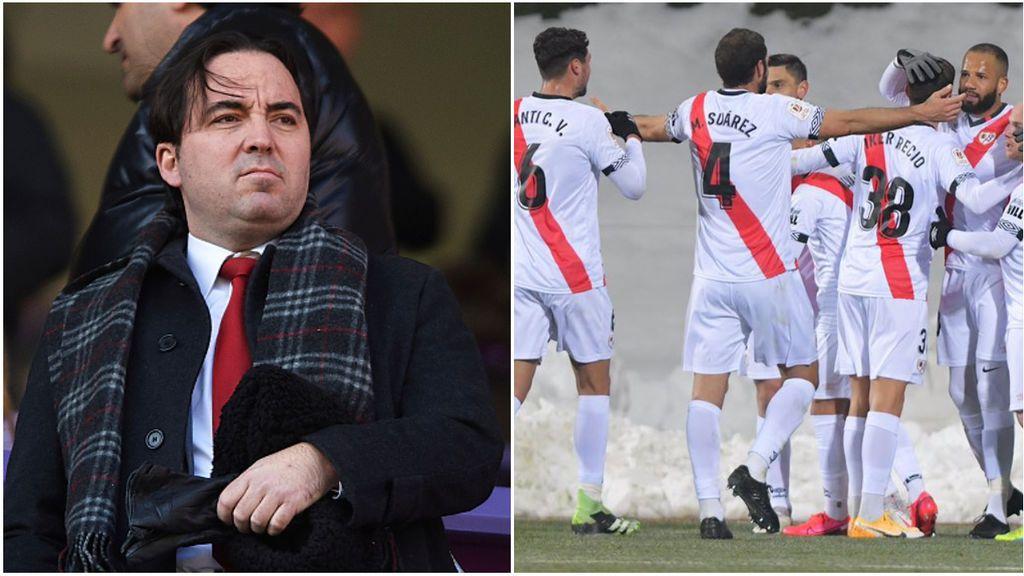 """Los jugadores del Rayo estallan contra la mala gestión del club: """"Nos vimos obligados a hacer cosas expresamente desaconsejadas por la Liga"""