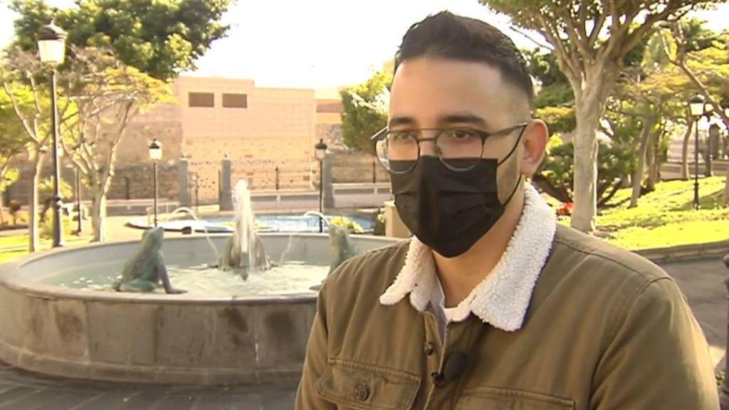 """Alejandro, un joven sin patologías previas, tras superar el coronavirus: """"Que se cuiden porque la experiencia es horrible"""""""