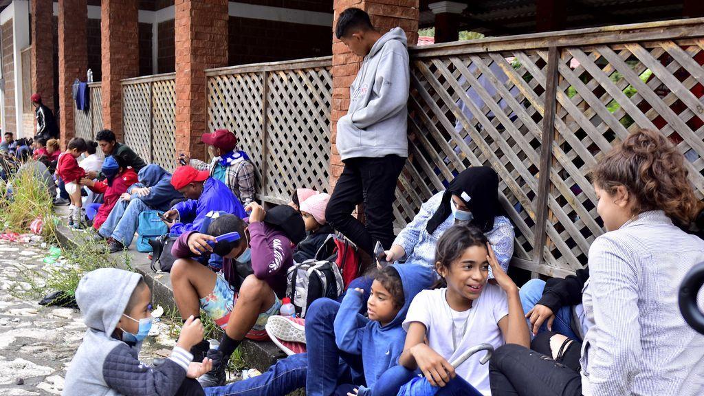 Caravana de inmigrantes centroamericanos destino a EE.UU.