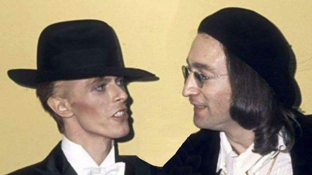 """""""No se dirigieron la palabra en dos horas"""": la historia del extraño primer encuentro entre Bowie y Lennon"""
