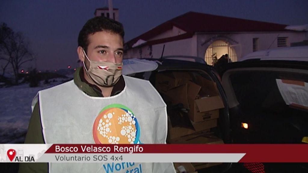 """El emotivo agradecimiento de una familia a Bosco, uno de los voluntarios con 4x4: """"Eres un ser de luz"""""""