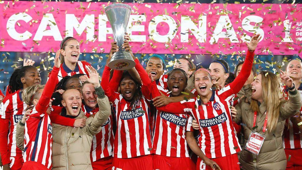 La Supercopa de Virginia Torrecilla: el gran detalle de sus compañeras tras ganar la final