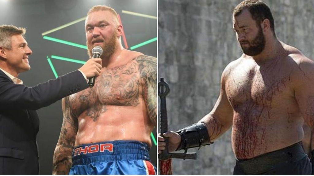 Hafthor Bjornsson, 'La Montaña' de Juego de Tronos, debuta como boxeador: empate en su primer combate
