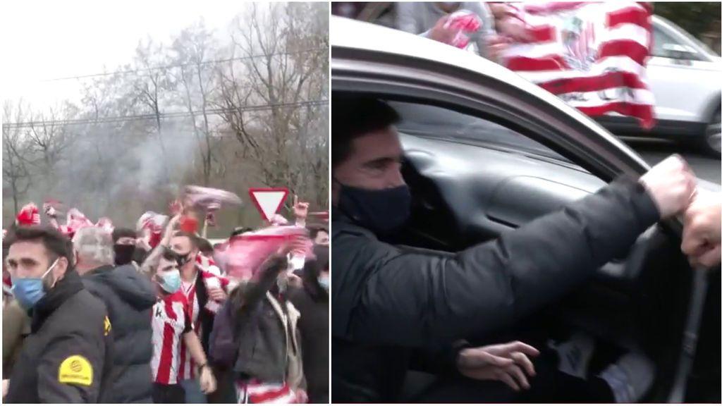 El Athletic celebra el título con los aficionados