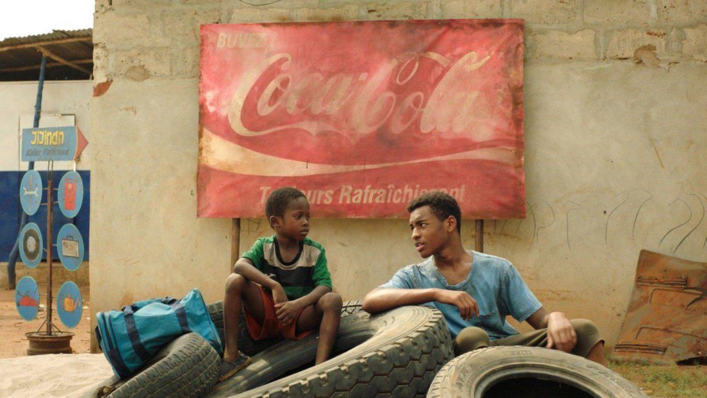 Moustapha Oumarou y Adam Nourou en 'Adú'