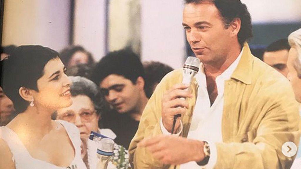 Isabel Gemio le devuelve el guante a Bertín Osborne