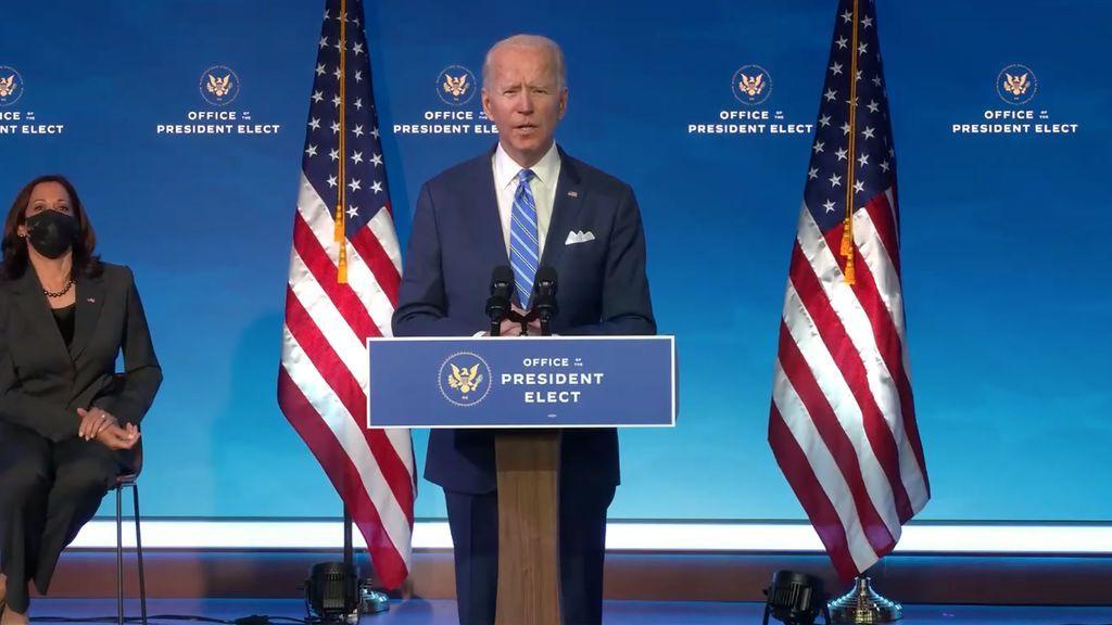 Los desafíos sociales, sanitarios y medioambientales acuciarán desde el primer día a Biden
