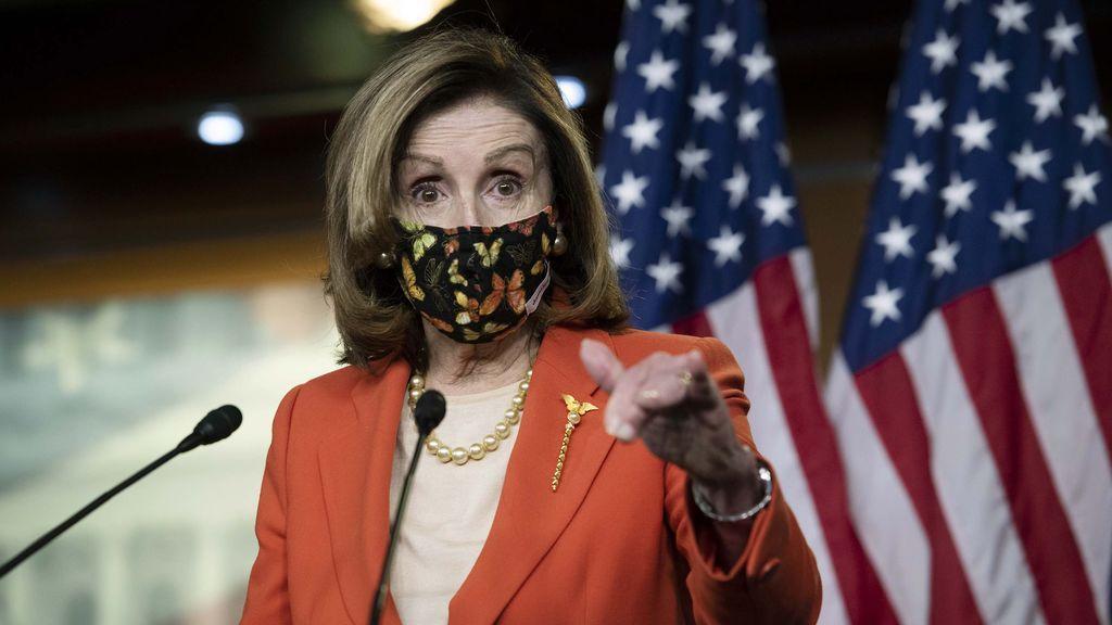 Detienen a una mujer que pretendía vender a los servicios secretos rusos un portátil robado a Nancy Pelosi