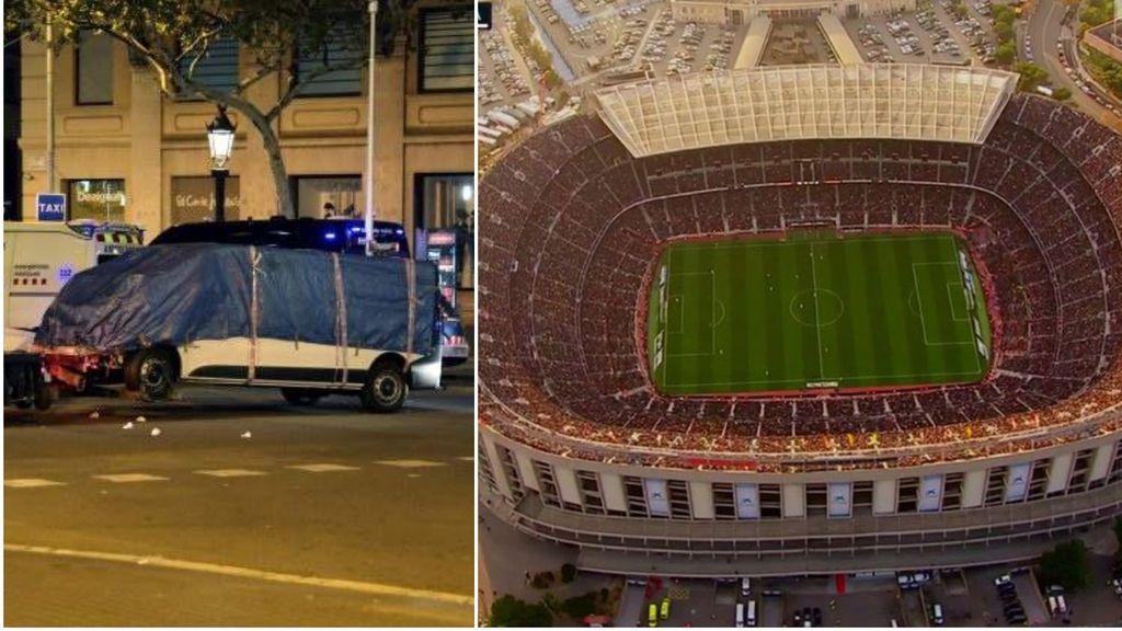El Camp Nou fue el primer objetivo de los terroristas: los atentados de Las Ramblas y Cambrils fueron una improvisación