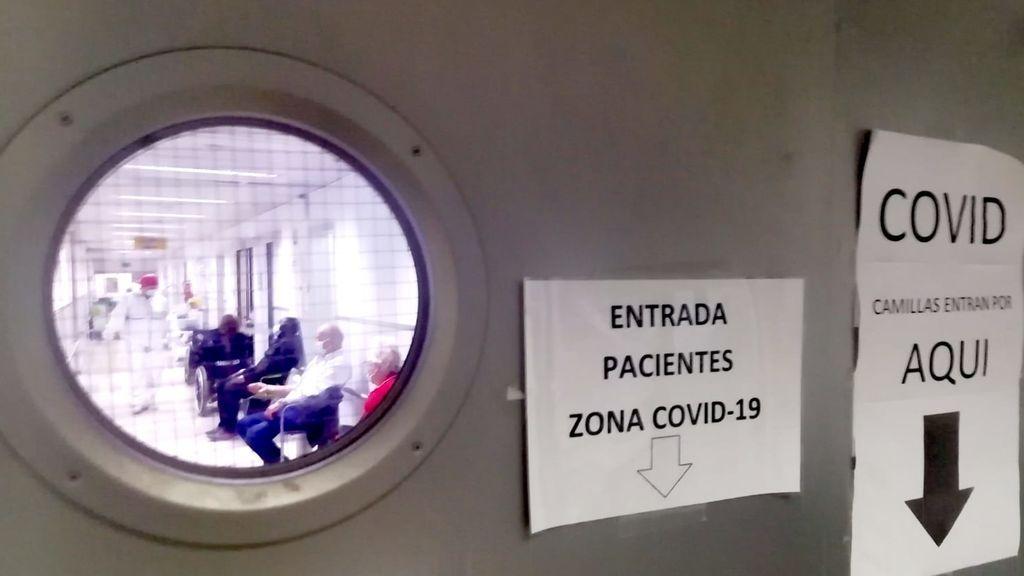 El hospital Reina Sofía de Murcia al borde del colapso