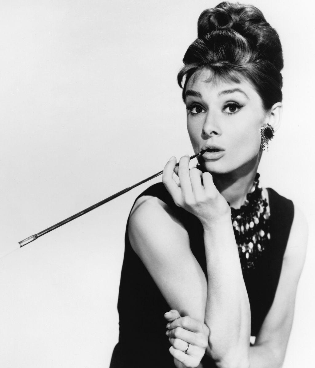 Audrey Hepburn, en un posado de 'Desayuno con diamantes'