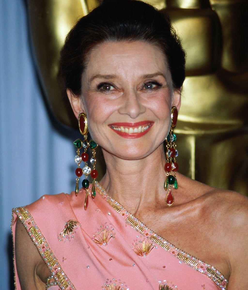 Audrey Hepburn (1986), siete años antes de fallecer