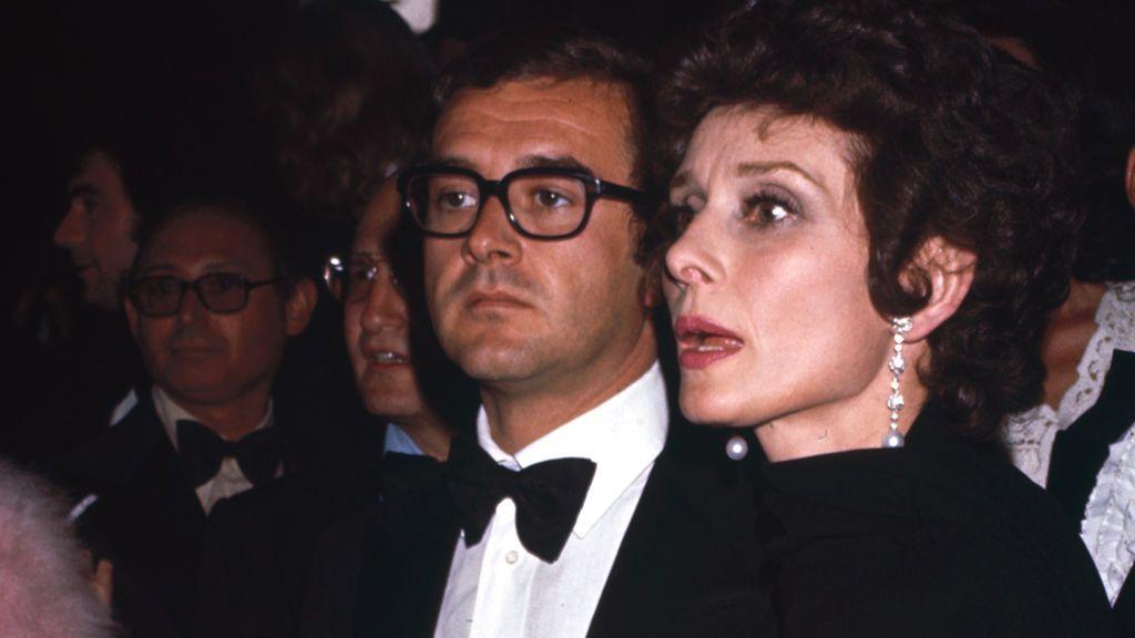 Audrey Hepburn con su segundo marido, Andrea Dotti