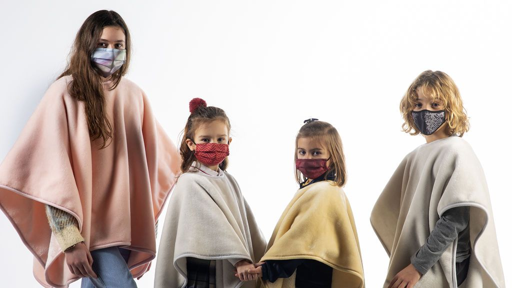 Mantas anti-covi 'made in Spain' para proteger a mayores y niños