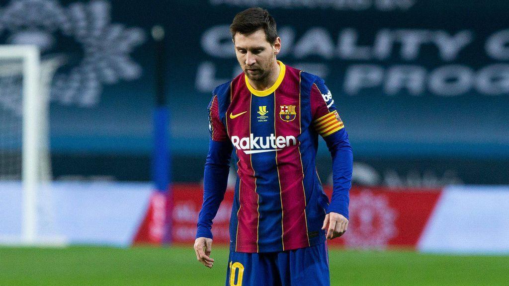 Leo Messi, sancionado con dos partidos de suspensión por la expulsión en la final de la Supercopa