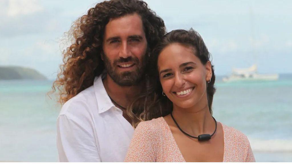 Raúl y Claudia, pareja de 'La isla de las tentaciones 3'