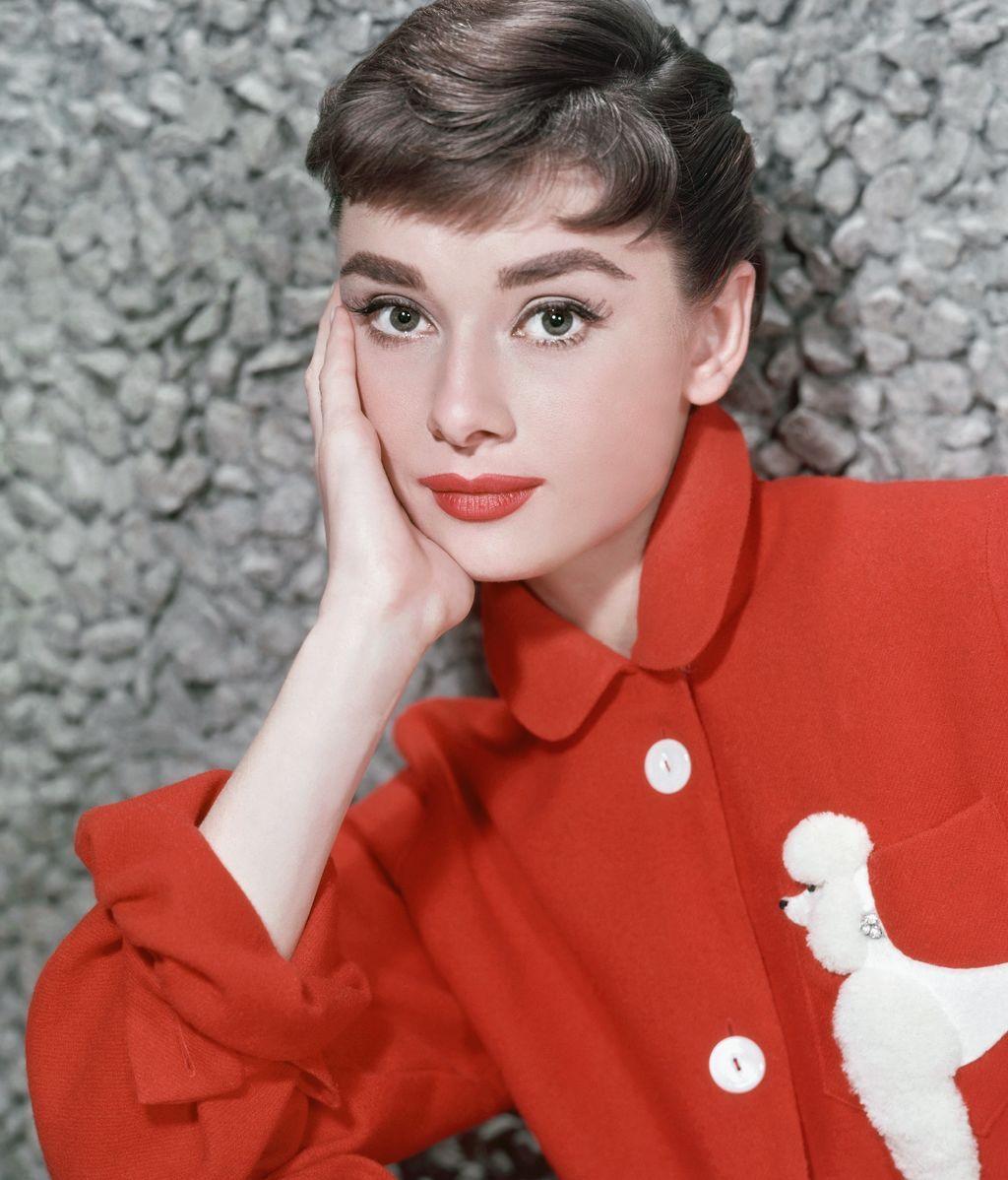 Audrey Hepburn, en una imagen de 1957