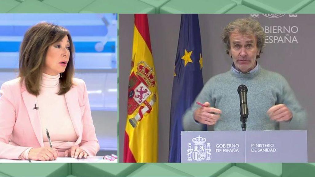 """Ana Rosa, sobre Fernando Simón: """"Sus opiniones me dan absolutamente igual, ya no le hacemos caso"""""""