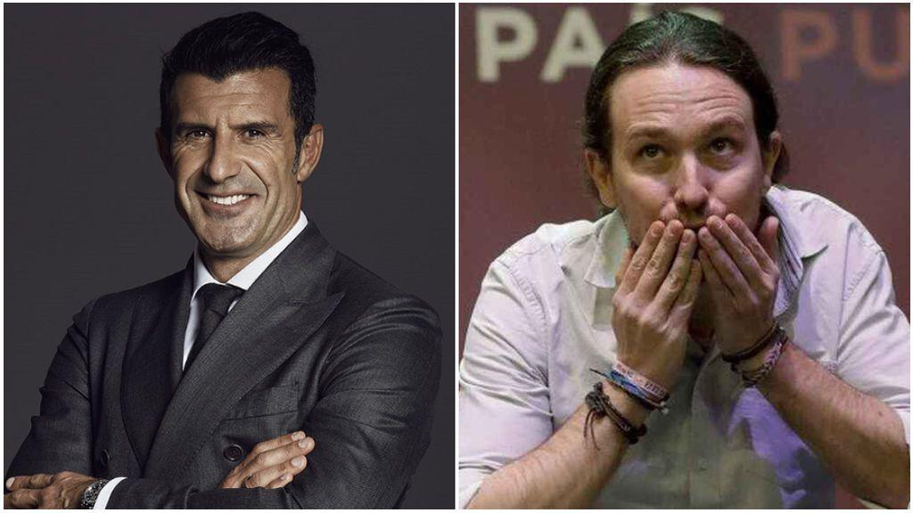"""Pepe Reina y Figo se unen contra el Gobierno y Pablo Iglesias: """"Ya solo consigues engañar a los tontos muy tontos"""""""