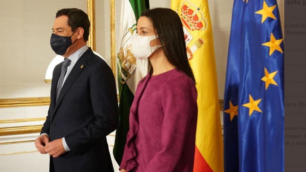 """Arrimadas exige que el cese del consejero de Salud de Murcia porque """"en Ciudadanos no duraría ni 5 minutos"""""""