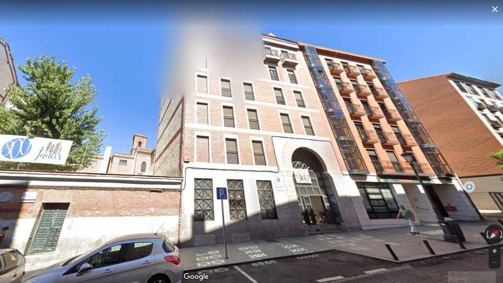 Imagen del edificio afectado