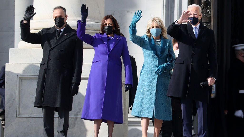 Los looks en la toma de posesión de Joe Biden