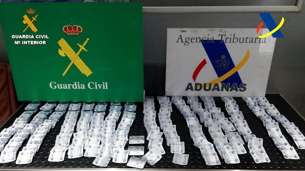 La venta de las pastillas en el mercado ilícito hubiera supuesto 30.000 euros de benefico.