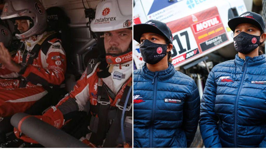 """Los comentarios machistas de dos pilotos del Dakar hacia las gemelas Koloc en plena carerra: """"Me estoy empalmando"""""""