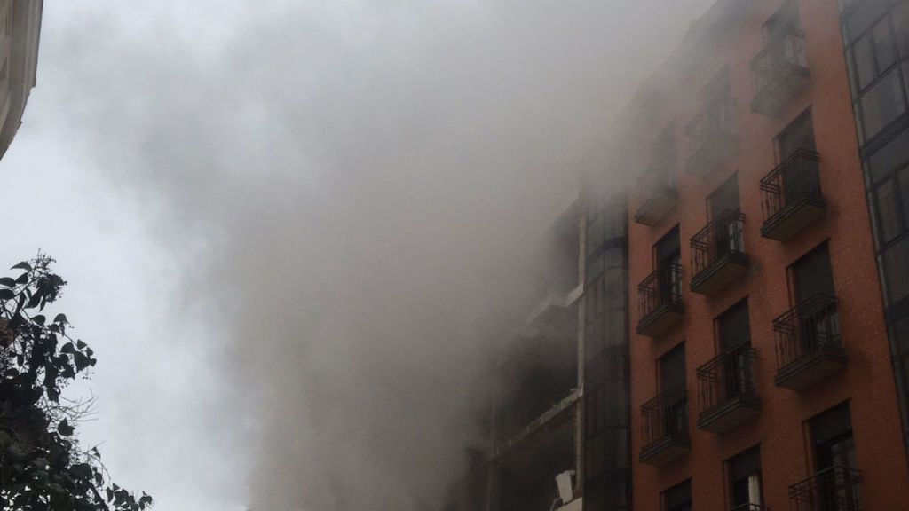 Explosión en Calle Toledo, Madrid. Informativos 1