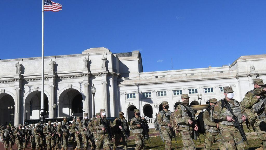 Soldados en Washington