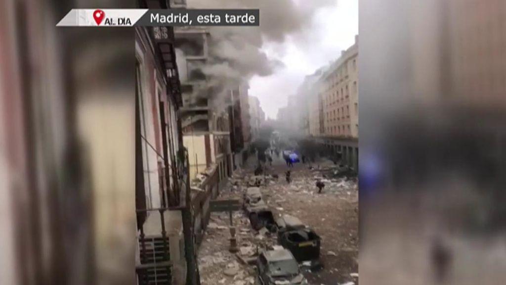 Muere el feligrés que estaba desaparecido tras la tremenda explosión de Madrid: era padre de cuatro niños