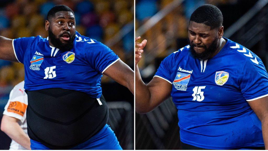 Gauthier Mvumbi, el jugador congoleño de balonmano que arrasa por su físico: 110 kilos y 1,92 de estatura