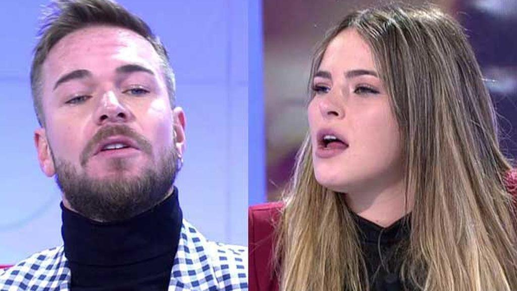 Tony Spina y Marta Peñate confirma que se han liado
