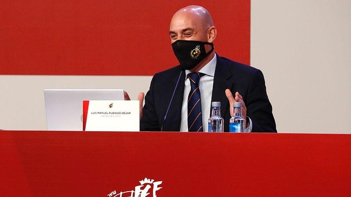 Luis Rubiales, presidente de la Federación Española de Fútbol, positivo por coronavirus