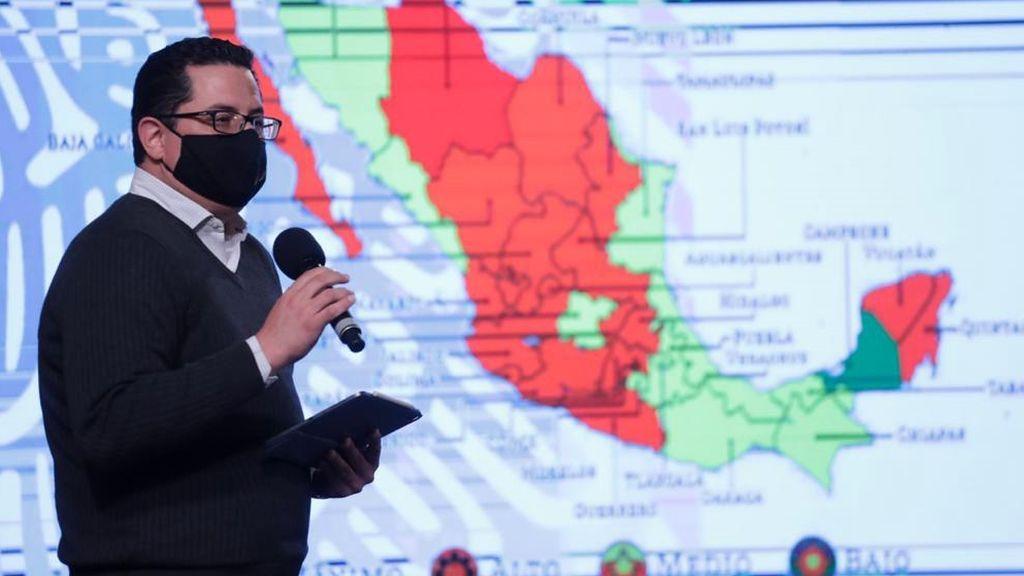 Récord de fallecimientos en México: 1.584 muertes en un solo día
