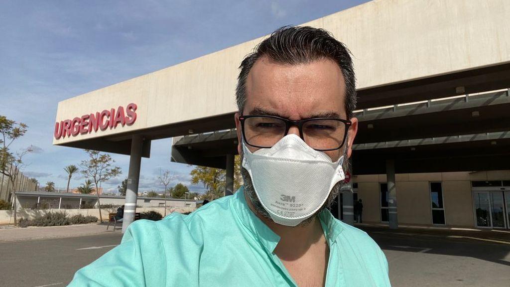 Santiago Diéguez, médico de urgencias hospital Vinalopó de Elche